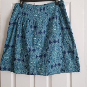The Villager (A liz claiborne co.) paisley skirt